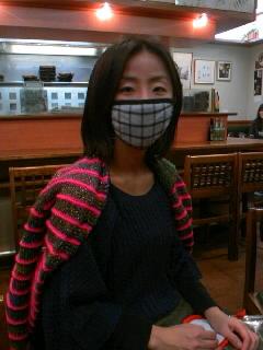 アジアんマスク増えてます